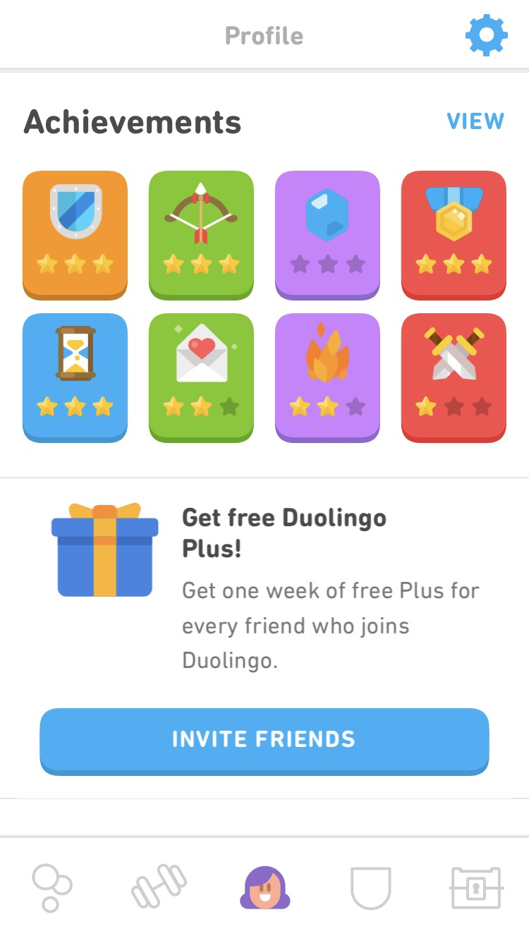 Gamification in Duolingo