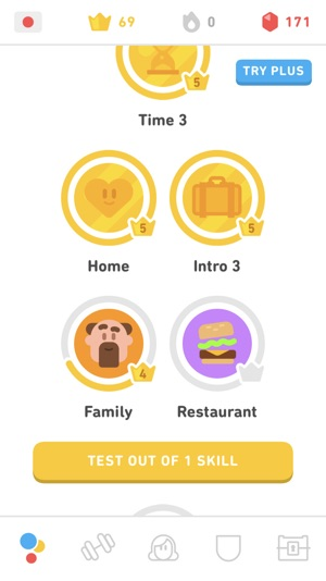 Sequences in Duolingo